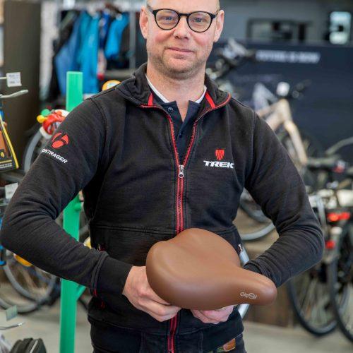 eigenaar Van Dijk Bikes Michel